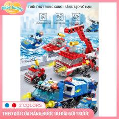 [TẶNG THÊM LOGO] Đồ chơi lắp ráp ô tô, máy bay 8612, Đồ chơi Lego, đồ chơi lắp ráp, đồ chơi xếp hình, xe đồ chơi, police car toys, Logo xếp hình xe, bộ đồ chơi xếp hình logo cho bé 145 chi tiết, mua 1 lắp được 7 mô hình