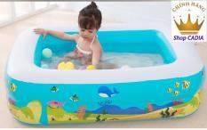 Bể bơi phao bể bơi bơm hơi tại nhà và dã ngoại cho bé