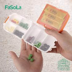 Hộp chia thuốc 7 ngày tiện lợi, 3 tầng dễ gấp gọn [FASOLA] FSLJJ-010