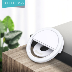 KUULAA Chụp ảnh tự sướng LED Ring Fill Light Photography Portable Selfie LED Ring Fill Light Camera Photography for Android iPhone 11 pro max Phone