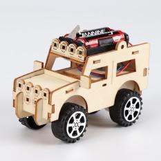 Ô tô Lắp Ghép Chạy Pin Theo Phương Pháp Giáo Dục Steam, đồ chơi thông minh, đồ chơi lắp ghép, đồ chơi sáng tạo, bé nghiên cứu khoa học, mô hình ô tô, đồ chơi bằng gỗ