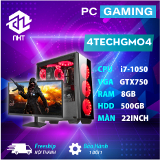 [Trả góp 0%]Desktop Computer PC Gaming 4TechGM04 2019 cây máy tính văn phòng cấu hình cao chơi Game thiết kế đồ họa như máy trạm chuyên nghiệp dùng cho cá nhân doanh nghiệp Club Games dùng CPU Core i7 cho Render Video nhanh không bị chậm giật lag.