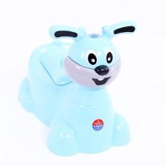 Bô vệ sinh cho bé con thỏ có nhạc cho bé siêu đáng yêu nhựa cao cấp