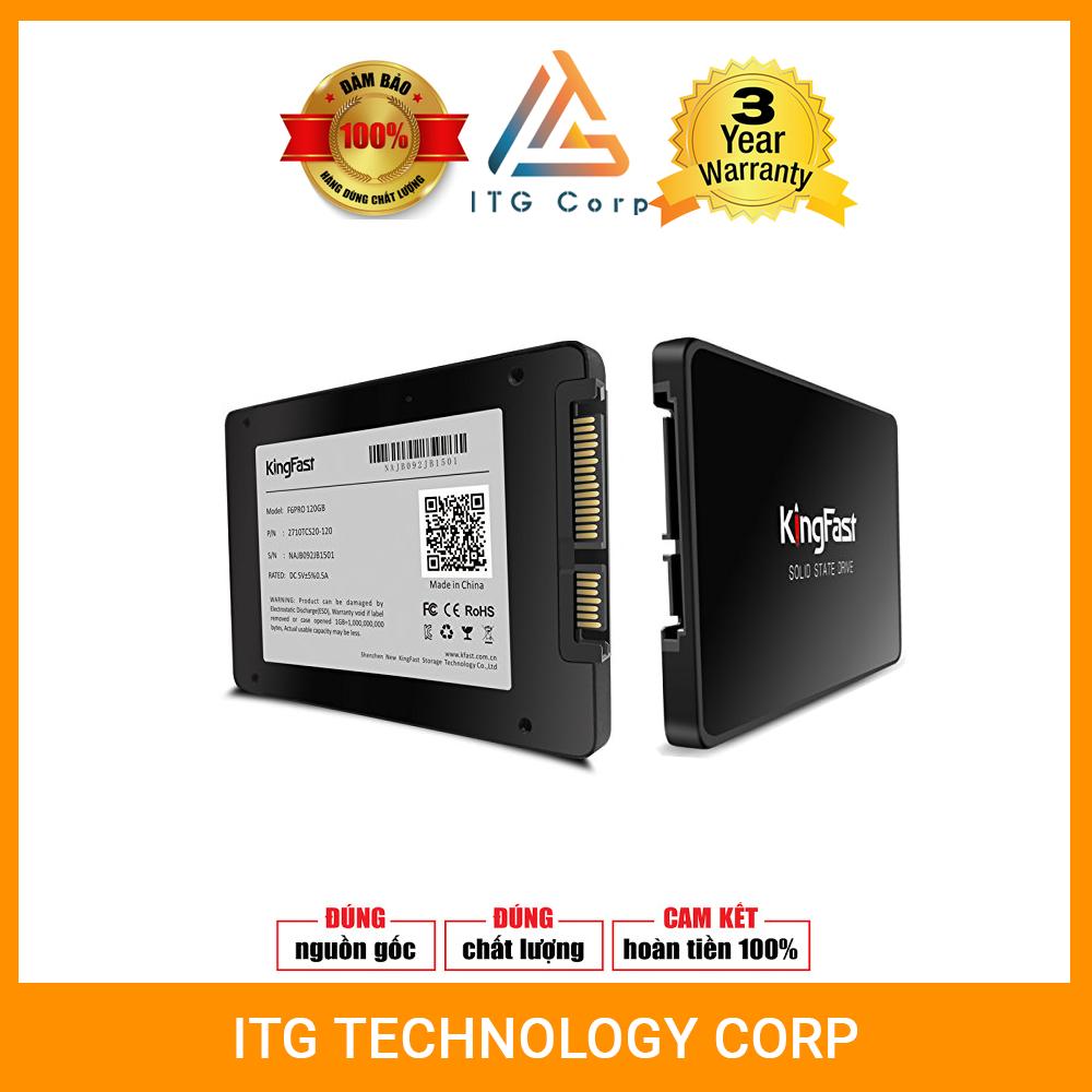 Ổ cứng SSD Kingfast F6 PRO 120G/240G- Bảo hành 36 tháng