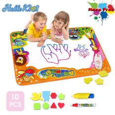 HelloKimiTấm bảng vẽ kèm 2 cây bút màu dành cho trẻ em vừa chơi vừa học kích thước 90*60cm