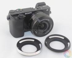 Hood kim loại cho ống kính phi 40.5mm – Sel16-50 OSS