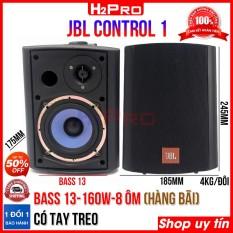 Đôi loa lời bãi Control 1 có tay treo, bass 13cm-160w-8 ôm, loa trợ lời karaoke JBL hàng bãi xịn (2 Loa)
