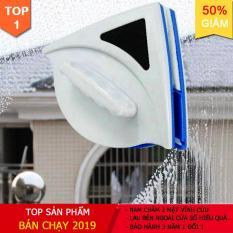 Dụng Cụ Lau Kính Nam Châm LAU MỘT MẶT SẠCH 2 MẶT vô cùng tiện lợi và an toàn khi vệ sinh cửu kính cho căn hộ của bạn