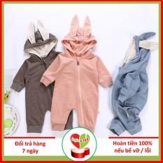 Body Thỏ Cho Bé Từ 0- 15 Tháng Tuổi- Hàng Cao Cấp Xuất Khẩu – Duonghieu6789
