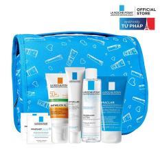 Bộ sản phẩm bảo vệ và chăm sóc toàn diện cho da nhạy cảm La Roche Posay Travel Bag