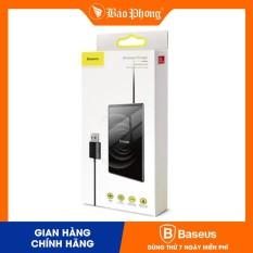 Dock sạc không dây 15w BASEUS Card Ultra-thin (with USB cable 1m)