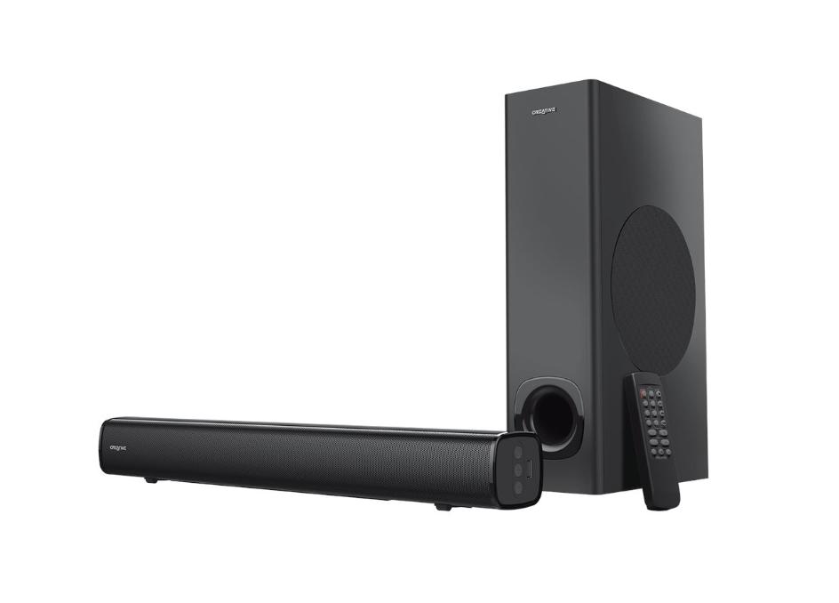 Loa vi tính Creative Stage 2.1 – Hàng chính hãng, đây là hệ thống giải trí âm thanh hoàn hảo để sử dụng cho dù ở thiết lập máy tính để bàn hay trong phòng khách
