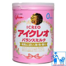 Sữa Bột Glico Icreo Số 0 – Hộp 800g (Cho trẻ 0~12 tháng tuổi)