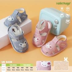 Dép tập đi Uala rogo mềm êm chân cho bé hình chú chuột 5439