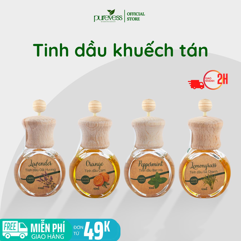 Tinh dầu khuếch tán Purevess – tinh dầu thơm phòng – tinh dầu đuổi muỗi. Dung tích 9ml