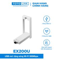 USB mở rộng sóng Wi-Fi 300Mpbs – EX200U – TOTOLINK