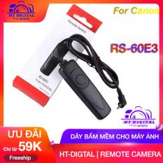Dây Bấm Mềm RS-60E3 For Canon Eos 700D/550D/60D/70D/100D