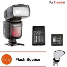 Đèn Flash Godox V860II Cho Canon (kèm pin và sạc) – Tặng Flash Bounce