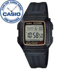 Đồng hồ nam dây nhựa Casio Standard Anh Khuê F-200 & F-201 Series