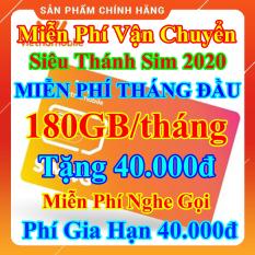 [FREESHIP] Siêu Thánh Sim 4G Mới Vietnamobile – Miễn Phí 180GB/Tháng – Miễn Phí Tháng Đầu – Tặng 40.000đ – Nghe Gọi Nội Mạng Miễn Phí – Phí Gia Hạn 40.000đ – Sim Trọn Đời – Shop Lotus Sim Giá Rẻ