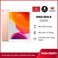 Máy Tính Bảng Apple iPad Gen 8 2020 (wifi + 4G) – Hàng Chính Hãng