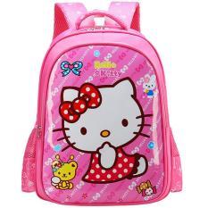 Balo Trẻ Em Cho Bé Gái Hình Mèo HK Loại Mới-BLM,334 – Qmart