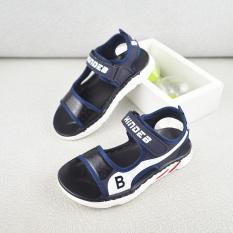 sandal bé trai size 32-36 đế siêu êm nhẹ