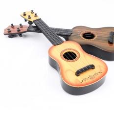 Đàn Ghita – Đàn Ukulele – Đàn Ghita Nhựa Cho Bé Đàn Ukulele Mini Giả Gỗ, Đàn ukulele nhựa giả gỗ cực đáng yêu cho bé, dan ghita, dan ukulele