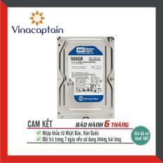 Ổ cứng HDD WD Blue 500GB/250GB – Nhập khẩu từ Nhật Bản, Hàn Quốc – Bảo hành 6 tháng 1 đổi 1