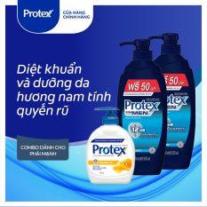 Bộ sản phẩm Protex diệt khuẩn và dưỡng da hương nam tính quyến rũ