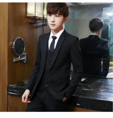 Áo Khoác Vest Nam Kaki Màu Đen Hàn Quốc Thời Trang TC-Fashion – TC61426