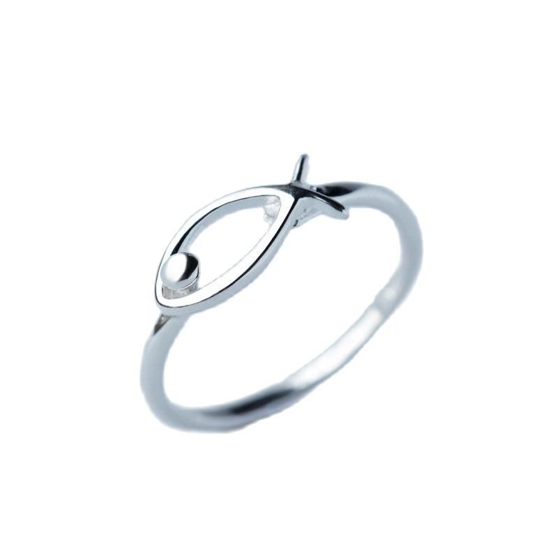 Nhẫn Bạc Nữ|Nhẫn Bạc Hình Con Cá Xinh Xắn Cá Tính Cho Nữ N2467 – Bảo Ngọc Jewelry