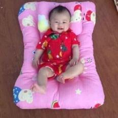 Bộ nệm gối cho bé sơ sinh với chất liệu vải đẹp mịn thoáng mát🐳🐳