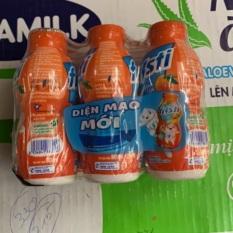 Sữa chua uống Fristi hương Cam chai 80ml (lốc 6 chai)