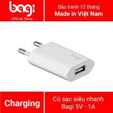 Củ sạc Bagi cho Iphone ce – I51Z dùng cho iphone 5 5s 6 6s 7 7s 8 8s iphone X ipad ipod