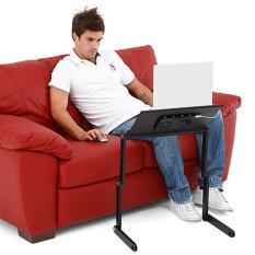 Bàn kê laptop 3 khớp 2 quạt tản nhiệt có bàn để chuột
