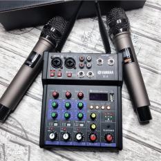 [XẢ HÀNG CẮT LỖ – GIÁ KHÔNG TƯỞNG] Dàn Âm Thanh Amly Mixer Yamaha G4 Tích Hợp Đầu Thu Không Dây, Bàn Trộn Âm Thanh Kiêm Lọc Âm Mixer Yamaha G4, Dàn Karaoke Mini Cho Gia Đình Tiện Lợi