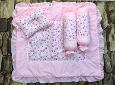 Bộ gối nệm sơ sinh nhỏ kate Thủy Tiên Baby