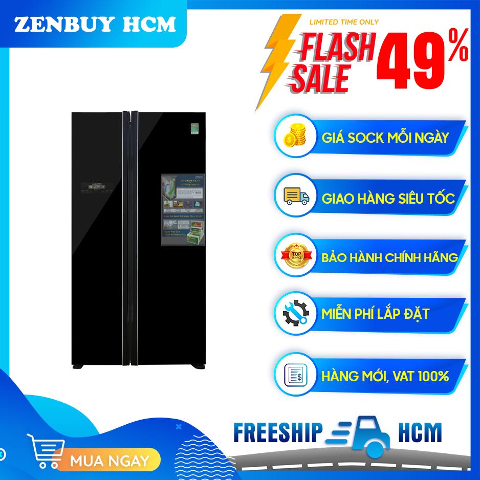 Tủ lạnh Hitachi Inverter 605 lít R-FS800PGV2(GBK)