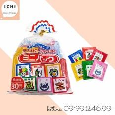 (Date: T10.2021) Gia Vị Rắc Cơm 6 Vị 30 Gói Nhỏ Nhật Bản