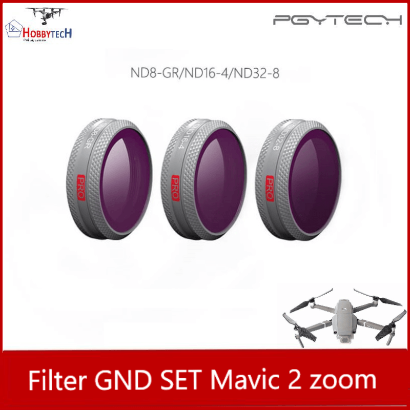 Combo 3 lens filter GND mavic 2 zoom professional – PGYTECH