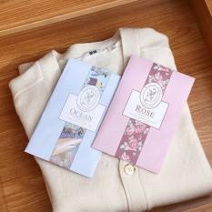 Túi thơm – túi thơm để tủ quần áo – túi thơm quần áo có móc treo loại vỏ màu (TTM02) Huy Tuấn