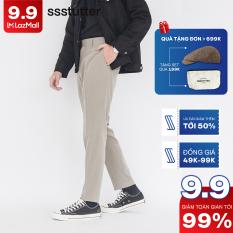 Quần âu vải Nam có chun ẩn co giãn vòng bụng SSSTUTTER Vải cao cấp co giãn siêu nhẹ Smart Pants
