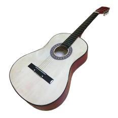 Đàn Guitar acoustic dáng D GU04 màu gỗ hồng đào