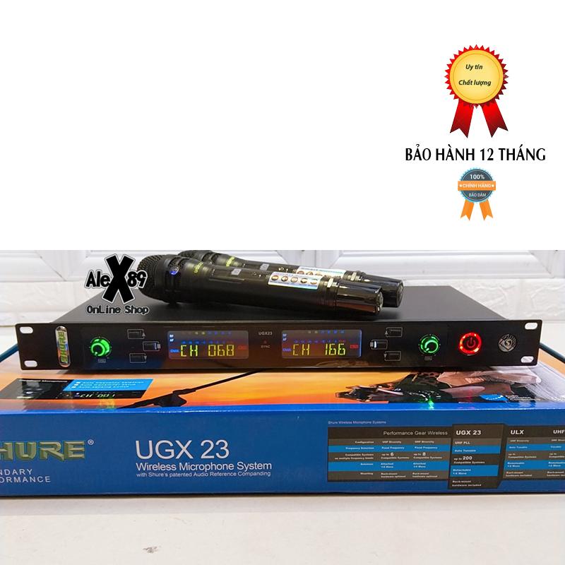 MICRO không dây SHUREugx23-Mới 2020