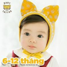 BABY TATTOO Nón tai thỏ dễ thương cho bé chụp ảnh SIÊU CUTE xinh xắn