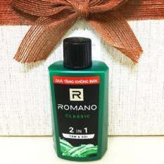Tắm gội 2 trong 1 Romano Classic 60gr