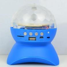 Loa bluetooth L-740 Loa đèn 7 sắc loa điện thoại chớp nháy đèn liện tục âm lượng lớn khí phát trong phòng loa mini đèn tròn quay đèn hộp đêm hiệu ứng âm bass