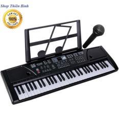 ĐÀN PIANO ĐIỆN KEYBOARD 61 PHÍM KÈM MICRO HÀNG ĐẸP ĐÀN ORGAN ĐÀN PIANO CHO NGƯỜI MỚI CHƠI
