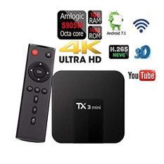Android Tivi Box TX3 Mini Phiên Bản 2G Ram Và 16G Bộ Nhớ Trong – BH 3 Năm, MyK+, AndroidTV